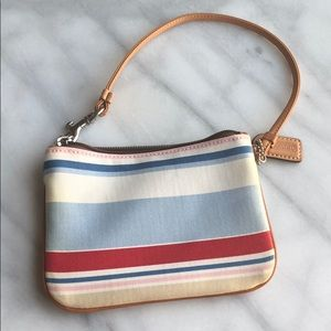 Coach Beautiful wristlet, colorful and light!